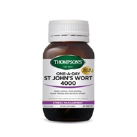Thompson's One-A-Day St Johns Wort 4000 - 60 Tablets