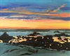MONTEREY SUNSET---STUDIO CLOSEOUT $50