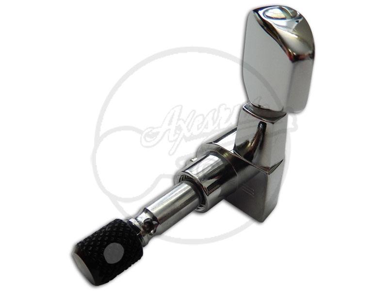 Schaller® M6 Mini Machine heads - Locking - Set - Nickel