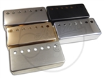 Humbucker Cover - German Silver / Nickel - 12 Screw Pole