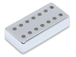Humbucker Cover - German Silver - 7 String with 14 Holes