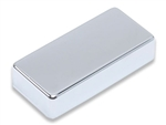 Humbucker Cover - German Silver - 7 String with no Holes