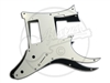 A range of pickguards suitable for the Ibanez 7 string RG with humbuckers at bridge and neck position.