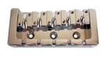 5 String Chrome Duty Style Bass Bridge