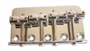 Classic Style 4 String Bass Bridge with offset saddles