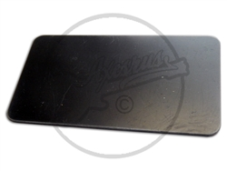 Black PVC Humbucker Top Plate - Blank