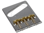 "Gotoh® BS-TC2 ""Flat Profile"" Bridge - Chrome- Left Handed"
