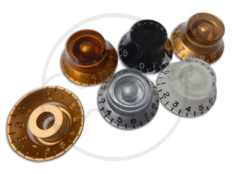 4 x Bell knobs - CTS Pots