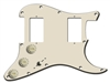 Axesrus - Loaded pickguard - Double Fat Fat - For a Stratocaster