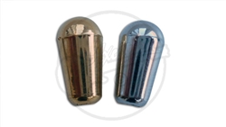 Epiphone Sized Screw Fit Switch Tips - Metallic Finish