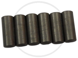6 x Flat Alnico poles, suitable for Telecaster pickups