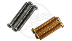 Wide Humbucker Mounting Screws - Dome Head