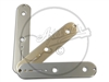 Selection of Axesrus Steel Control Plates for Fender® Telecaster®