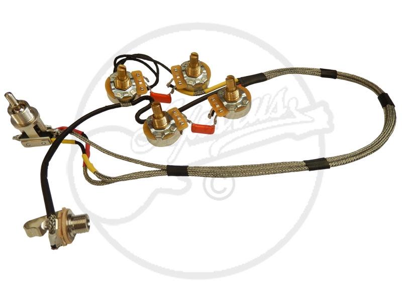 Wiring Loom For Telecastera Deluxe Custom