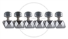 Axesrus Diamond Back Style Machine Heads - Single Hole Post