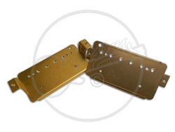 Brass and Nickel Vintage Humbucker Mounting Base Plates
