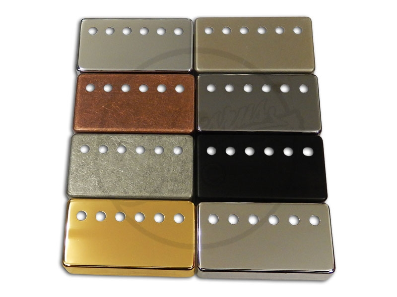axesrus humbucker cover german silver nickel. Black Bedroom Furniture Sets. Home Design Ideas
