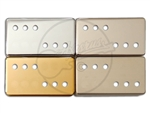 Humbucker Cover - German Silver / Nickel - 3x3 Screw Pole