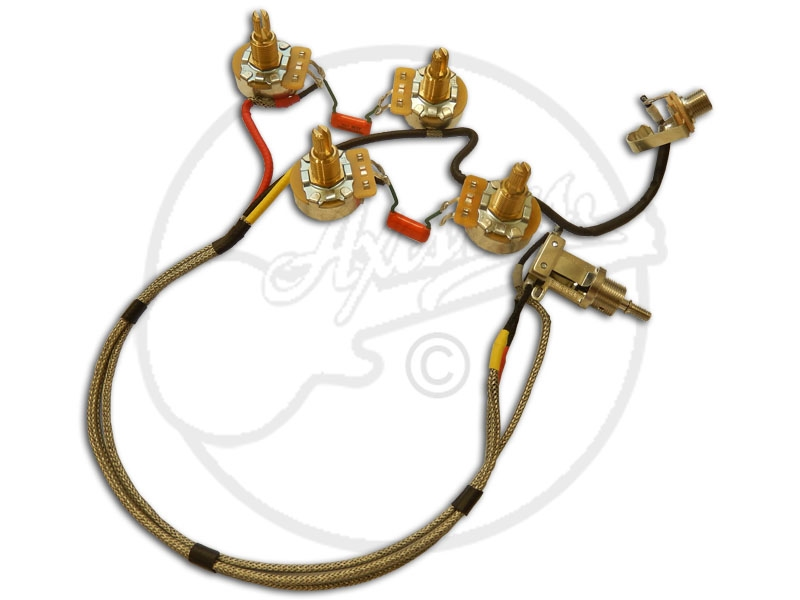 High Spec Cts Switchcraft Arch Top Wiring Loom