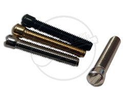 6 x  M3 Pole Screws - Slot Head - for Mini Humbucker