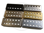Mini Humbucker Cover - German Silver - Staple