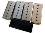 Mini Humbucker sized P90 Covers in Black, Chrome, Gold, nickel and Raw