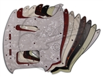 A Selection of Pickguards  Suitable for the Fender® Mustang® Cyclone® Conversion
