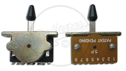 Pat Pending, Metal Encased Pickup Selector Switch