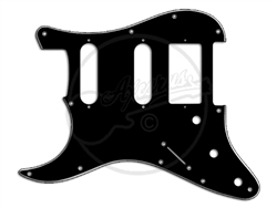 "Pickguard - Suitable for  Fender Stratocaste - ""Fat - HBSCSC"" - Left Handed"
