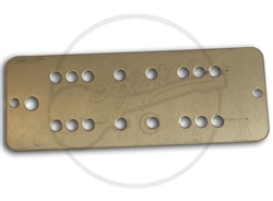 P90 sized humbucker base plate - Nickel