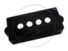 P Bass Pickup Cover for Quarter Inch poles