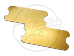 Brass Grounding Plate for P Bass pickups