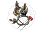 PRS Wiring kit for 2 pots and toggle switch
