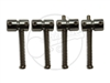 4 x Gotoh S203 Saddles - Chrome
