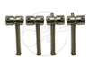 4 x Gotoh S203 Saddles - Nickel