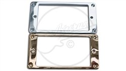 Set - Metal Diecast Archtop Humbucker Rings for Open Faced Humbuckers.