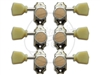 "Gotoh - SD-90 ""Magnum Thumb Lock"" - Set - Nickel/Green"