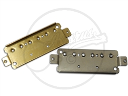 Mini Humbucker Base Plates for Staple Pickups in Nickel and Brass