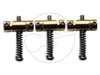 3 x Gotoh InTune Saddles - Brass