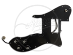 A loaded pickguard for a Telecaster Custom