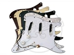 A Loaded pickguard for the Fender Stratocaster