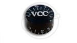 1 x VCC Black Speed Knob