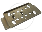 A Modern Wide Range Humbucker Base Plate in Nickel with 53.3mm String Spacing