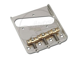 "Wilkinson by Gotoh® WT3 ""Compensation"" Bridge - Chrome"