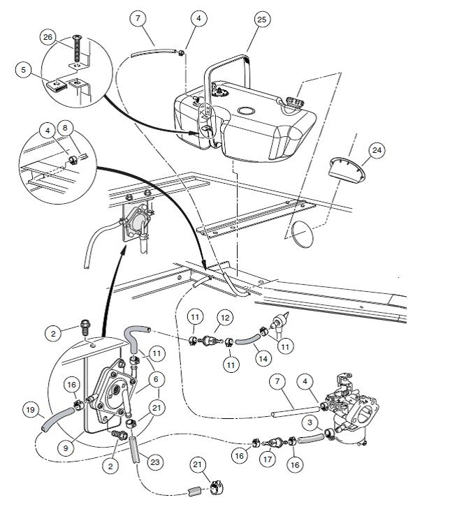 31 Club Car Fuel Pump Diagram