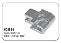 ACCELERATOR CABLE CLEVIS, RXV