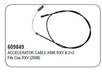 ACCELERATOR CABLE ASM, RXV & 2+2