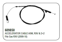 ​ACCELERATOR CABLE ASM, RXV & 2+2
