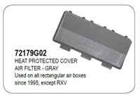 ​HEAT PROTECTED COVER AIR FILTER - GRAY