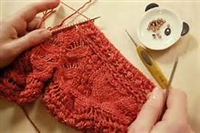Knitting with Beads Workshop: Sunday, February 23 9:30am-12:00pm
